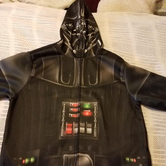 Star Wars Darth Vader Hoodie with see thru hood